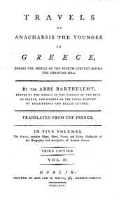 Travels of Anacharsis the younger in Greece ... Translated from the French [by William Beaumont] ... Third edition: Volume 3