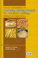 The ICC Handbook of Cereals  Flour  Dough   Product Testing PDF