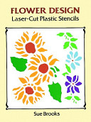 Flower Design Laser Cut Plastic Stencils