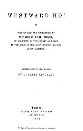 Collected Works of Charles Kingsley  Westward ho  PDF