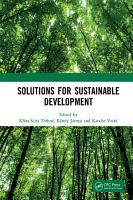 Solutions for Sustainable Development PDF