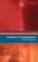 A Glossary of Sociolinguistics PDF