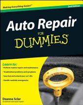 Auto Repair For Dummies: Edition 2