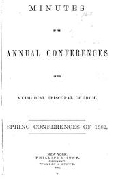 Minutes of the Annual Conferences of the Methodist Episcopal Church: Volume 19