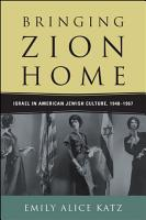 Bringing Zion Home PDF