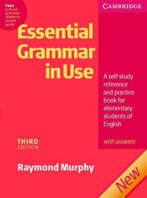 Essential Grammar in Use with Answers PDF
