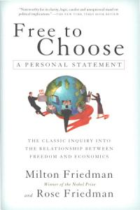 Free to Choose Book