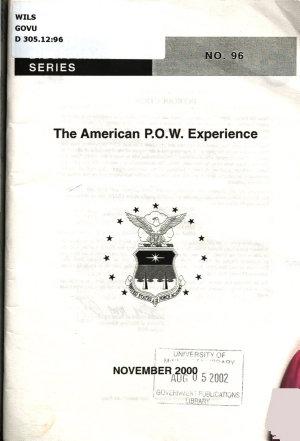 The American P O W  Experience PDF