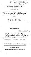 Heinrich Zschokke s ausgewaehlte Dichtungen  Erzaehlungen und Novellen PDF