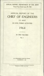Report of the Chief of Engineers U.S. Army: Parts 1-2