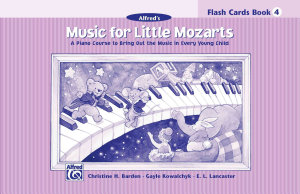 Music for Little Mozarts Flash Cards  Level 4  Flash Cards PDF