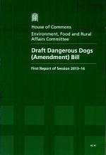 Draft Dangerous Dogs (Amendment) Bill