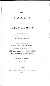 The Poems of Allan Ramsay: Volume 2