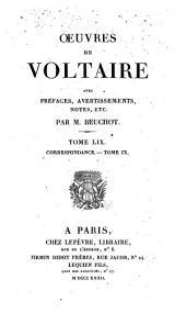 Oeuvres de Voltaire: Volume59