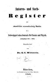 Journal für Chemie und Physik: Band 69