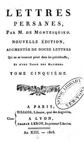 Oeuvres de Montesquieu: Volume5