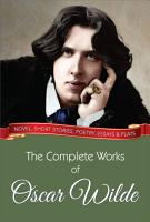 The Complete Works of Oscar Wilde PDF