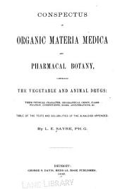Conspectus of organic materia medica and pharmacal botany