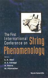 String Phenomenology