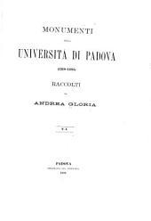 Monumenti della Università di Padova, 1318-1405: Volume 1