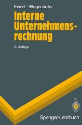 Interne Unternehmensrechnung: Ausgabe 2
