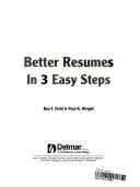 Better Resumes in 3 Easy Steps