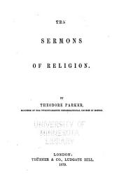 The Collected Works of Theodore Parker: Sermons. Prayers
