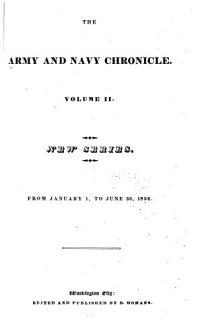 Army and Navy Chronicle Book