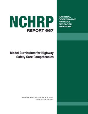 Model Curriculum for Highway Safety Core Competencies