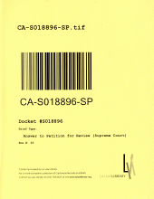California. Supreme Court. Records and Briefs: S018896, Answer to Petition for Review (Supreme Court)