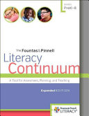 The Fountas   Pinnell Literacy Continuum Book