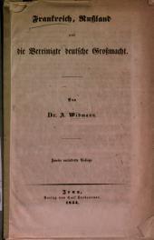 Frankerich, Rußland und die vereinigte deutsche Großmacht
