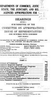 Departments of Commerce  Justice  and State  the Judiciary  and Related Agencies Appropriations for 1998 PDF