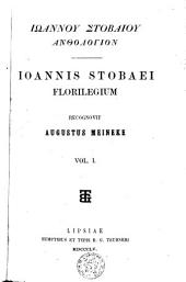 Florilegium: Volume 1