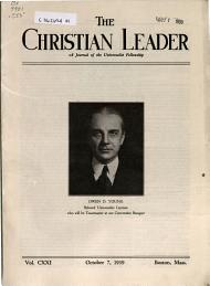 The Universalist Leader PDF