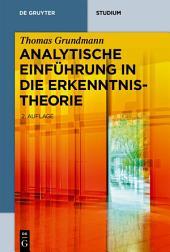 Analytische Einführung in die Erkenntnistheorie: Ausgabe 2