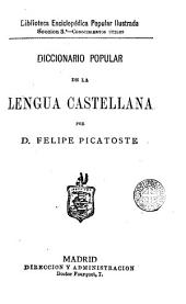 Diccionario popular de la lengua castellana