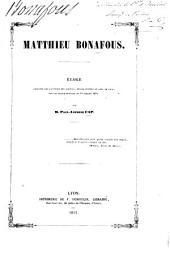 Matthieu Bonafous