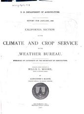 Climatological data, California