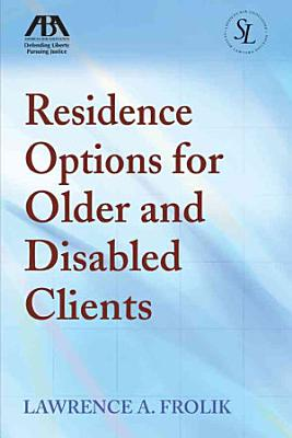 Residence Options for Older and Disabled Clients PDF