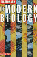 Dictionary of Modern Biology
