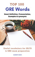 TOP 100 GRE Words PDF
