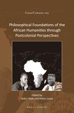 Philosophical Foundations of the African Humanities through Postcolonial Perspectives