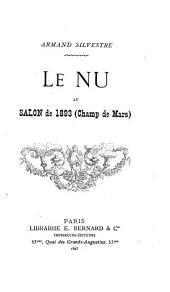 Le nu au Salon de 1893 (Champ de Mars)