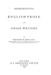 Representative English Prose and Prose Writers