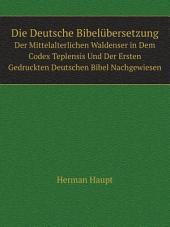 Die Deutsche Bibel?bersetzung