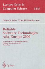 Reliable Software Technologies Ada-Europe 2000