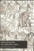 Kulturgeschichte des deutschen volkes PDF