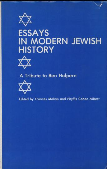 Essays in Modern Jewish History PDF
