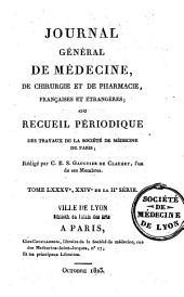 Transactions médicales: journal de médecine pratique et de littérature médicale